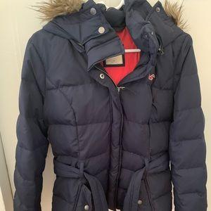 Hollister Navy Winter Jacket
